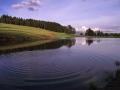 Jezero, reakce na kámen